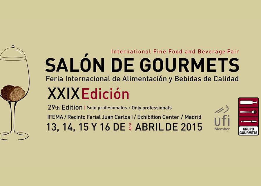 Presencia de DE MARÍA PRODUCTOS ARTESANOS EN XXIX Salón de Gourmets